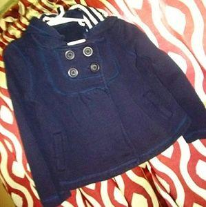 GapKids size 5-7 Girls sweater coat